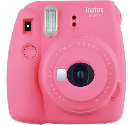 Câmera Fujifilm Instax Mini 9 Com Alim. Automática Rosa