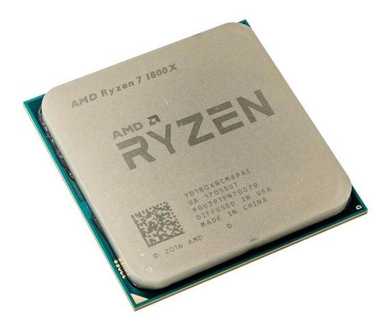 Kit Processador Amd Ryzen 7 1800x + Placa Mãe + 16gb Ddr4