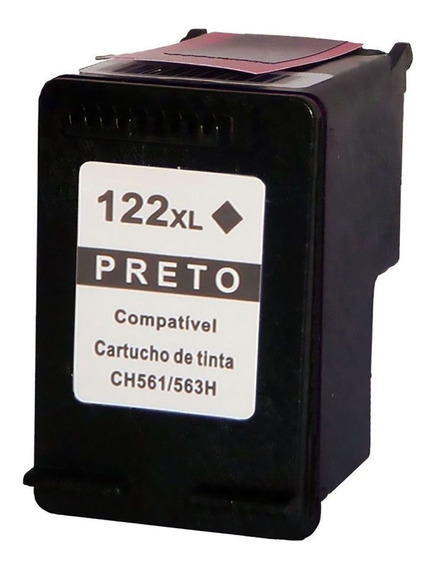 Cartucho 122 Xl Preto Modificado Com 22ml!! Super Promoçao!!