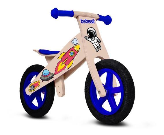 Bicicleta Madera No Roda Balance Aprendizaje Bebesit