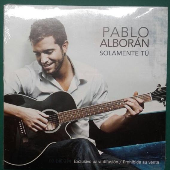 Cd Pablo Alboran Solamente Tu Single Promocion - Cd103