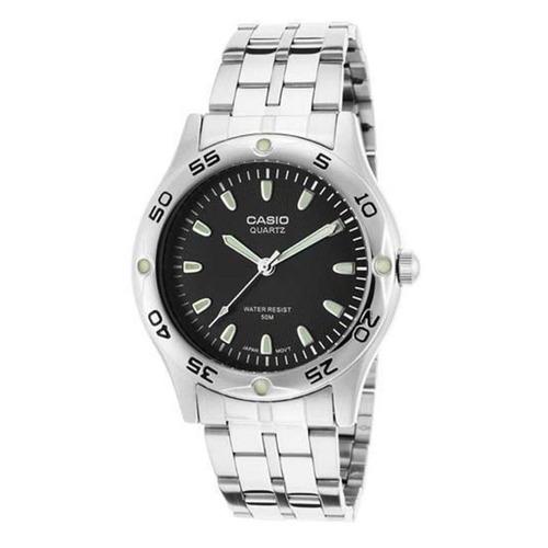 Reloj Casio Hombre Mtp 1243d 1a  Análogo Plateado