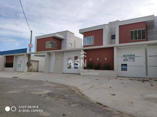 Casa Duplex Com 2 Dormitórios À Venda, 80 M² Por R$ 310.000 - Ouro Verde - Rio Das Ostras/rj - Ca0304