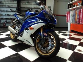 Yamaha Yzf R6 2010 Azul Zerada