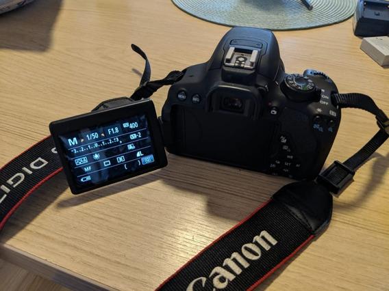 Canon T5i + Lentes 50mm E 18-135mm + Baterias + Acessórios