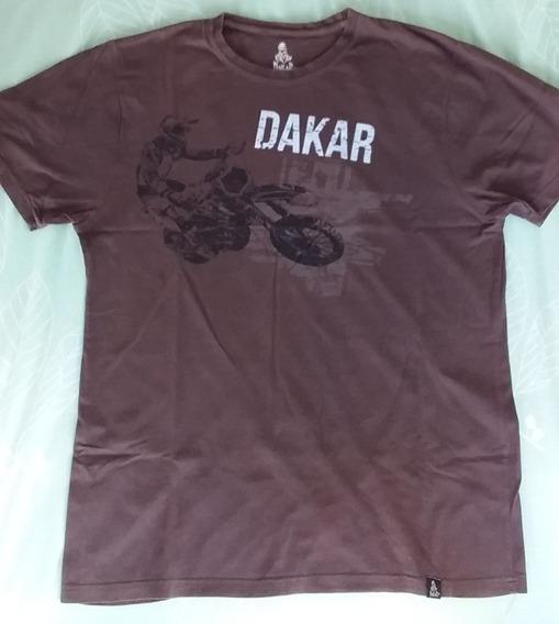 Remera Hombre Dakar Oficial L Argentina Chile Perú T Shirt