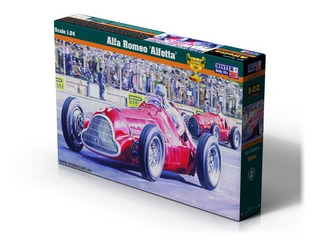Alfa Romeo 159 Alfetta Fangio Auto Para Armar1/24mistercraft