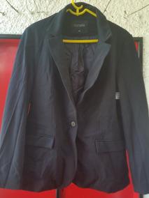 3d88892884 Blazer Casaco Feminino - Preto - Plus Size   Tamanho 48