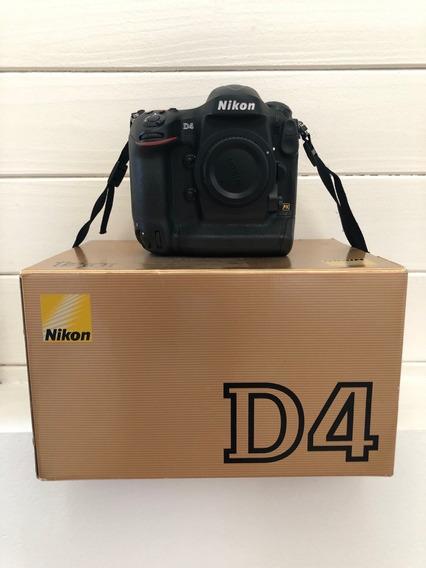 Maquina De Foto Digital Nikon D4 / Modelo Profesional