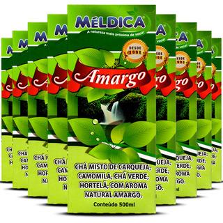 12 Amargo Chá Composto Para Sistema Digestivo 500ml Méldica
