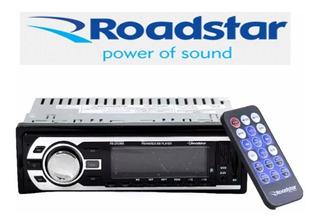 Radio Auto Roadstar Usb Am Fm Con Control Frente Fijo