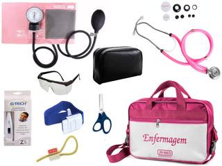 Kit Enfermagem De Aparelhos Completos Varias Cores Premium