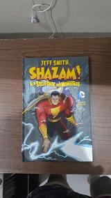 Shazam E A Sociedade Dos Monstros Hq