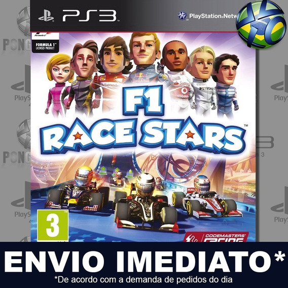 F1 Race Stars Ps3 Psn Jogo Em Promoção Pronta Entrega Play 3