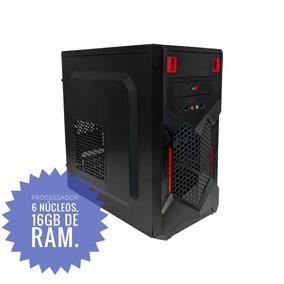 Pc Gamer. Processador De 6 Núcleos E 16gb De Ram. Roda Tudo!