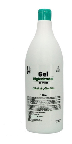 Alcool Em Gel 70% Higienizador Regulamentado Pela Anvisa 1l