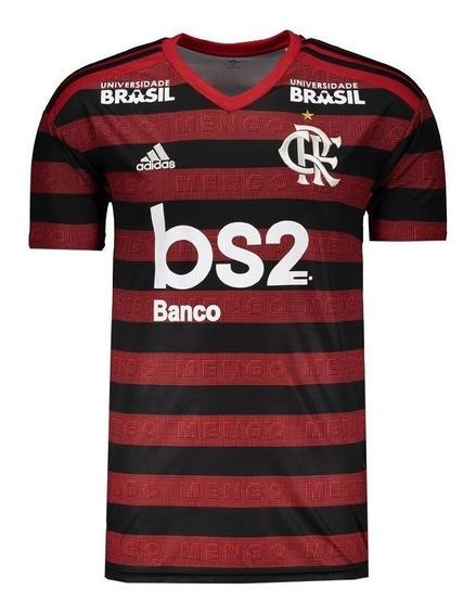 Camisa Flamengo Patrocínios 1 2 E 3 Oficial - (personalize)