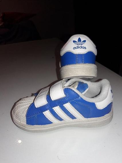 Unicas!! Zapatillas adidas Original T 21 Cuero Celeste. Usa