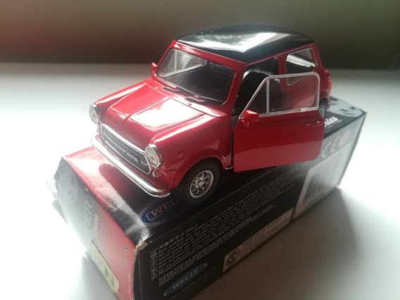 Mini Cooper 1300 Welly Scala 1/34 Hwargento