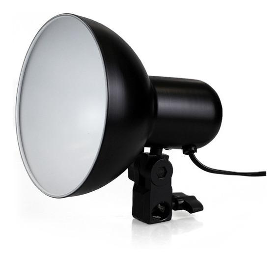 Iluminador P/ Foto E Video C/ Soquete E27 E Difusor Interno