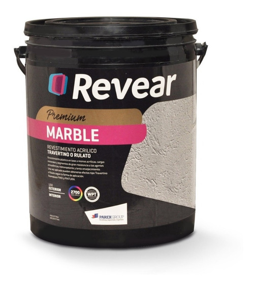 Revear Marble Revestimiento Medio Marron Habano 30kg