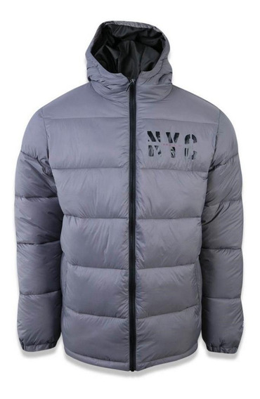 Jaqueta New Era Puffer Cities Nyc Cinza
