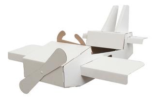 Avión De Cartón Mamut Cardboard Toys