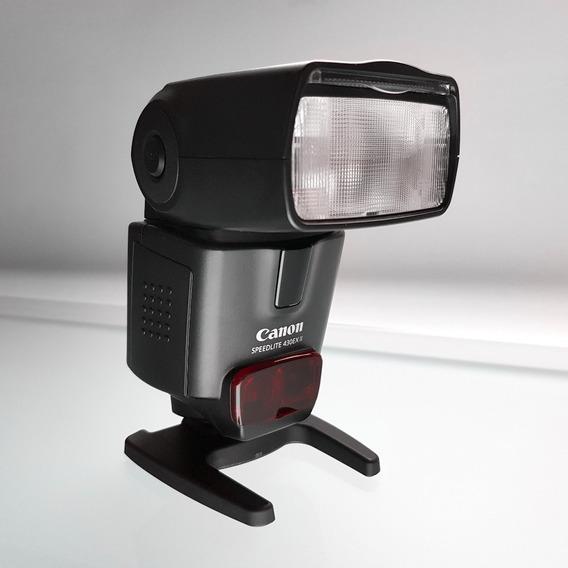 Flash Canon Speedlite 430ex Ii + Rebatedor / Difusor