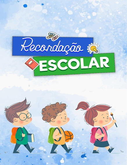Cartão De Recordação Escolar P/ Fotos 15x21+10x15 50unid