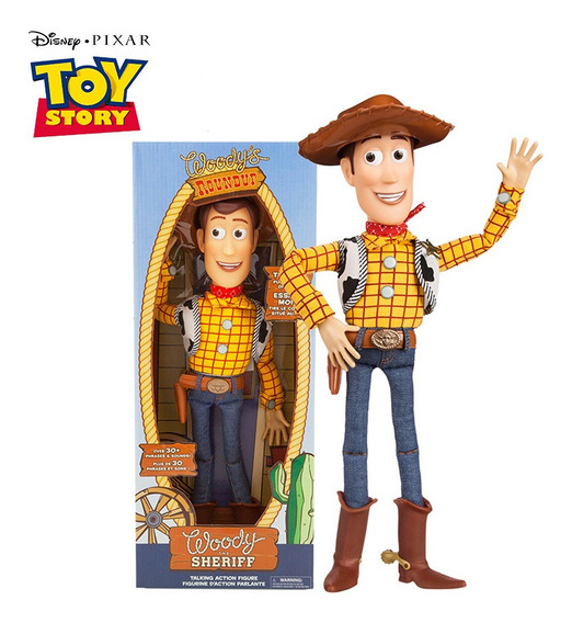 43cm 3 Falando Woody De Toy Story Toy Figuras De Ação Modelo