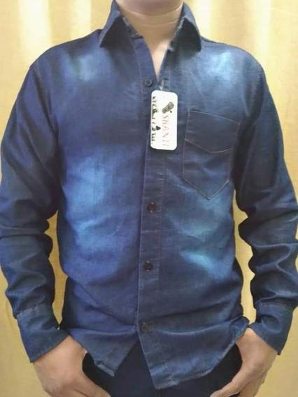 Mayoreo Lote 10 Camisas Mezclilla Caballero Hombre