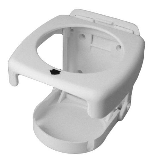 Kit Com 5 Porta-copos Retrátil P/ Barcos E Lanchas (branco)