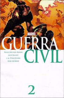 Comics Guerra Civil Marvel Nro 2