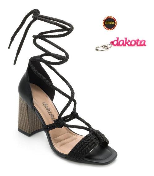 Sandália Amarração Dakota Dt19-z7001 + Brinde