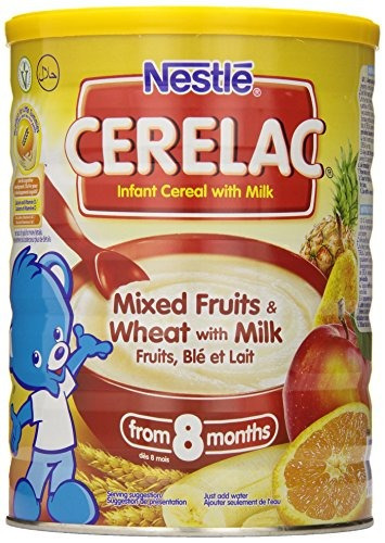 Imagen 1 de 6 de Nestlé Cerelac Cereal Infantil Mezcla De Frutas Y Trigo C