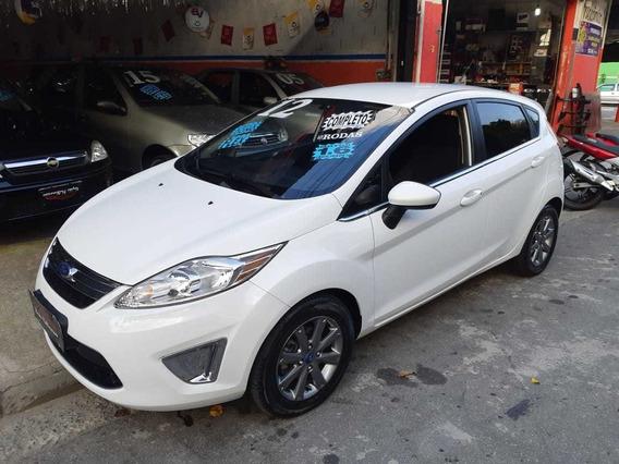 Ford Fiesta 2012 !!! Top De Linha Completo !!!