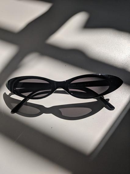 Óculos De Sol Gatinho Retro Cat Eye Pequeno