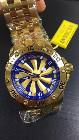 Relógio Invicta Speedway Turbine 25851 Automático Ouro 18k