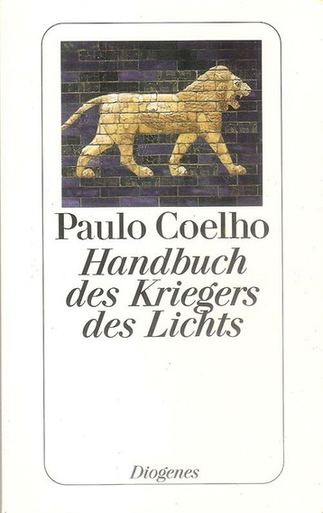 Livro Manual Do Guerreiro Da Luz Em Alemão Paulo Coelho Novo