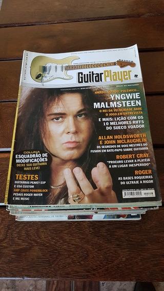 Coleção Revistas Guitar Player/ Guitar Class