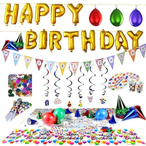 Fiesta De Cumpleaños Suministros Y Decoraciones De Fiesta