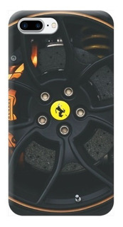 Funda Case iPhone 5 6 7 8 X Plus Rin Ferrari Carros