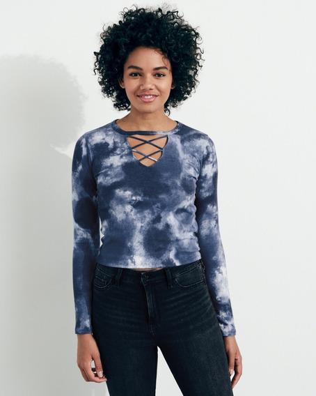Camiseta Hollister Feminina Camisas Abercrombie Importadas