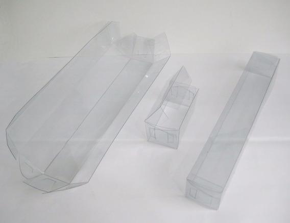 Cajas Acetato Pvc Mica Transparentes A Medida