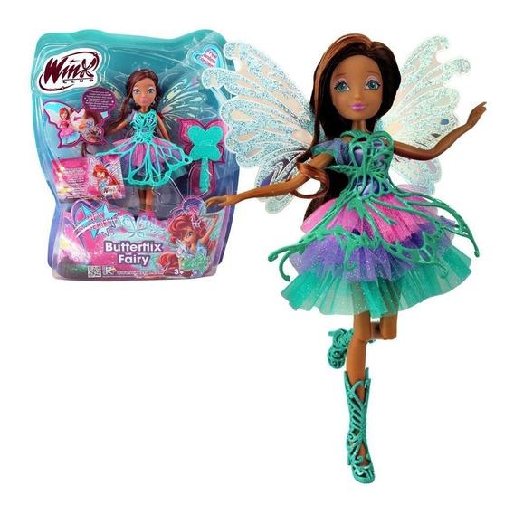 Boneca Winx Club Butterflix Fairy - Layla - 30 Cm - Original