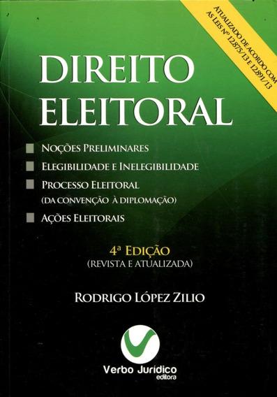 Livro Direito Eleitoral 4.edição Verbo Jurídico