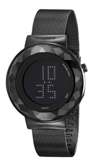 Relógio Mondaine Feminino Preto Digital 32006lpmvpe3