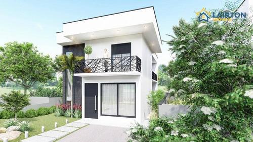 Casa Com 3 Dormitórios À Venda, 215 M² Por R$ 980.000,00 - Terras De Atibaia - Atibaia/sp - Ca2092
