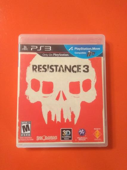 Resistance 3 - Ps3 - Mídia Física