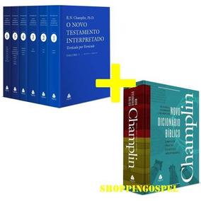 Comentário Bíblico Novo Testamento + Dicionário Champlin